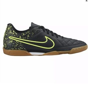 Nike Tiempo Rio II IC Indoor Soccer Shoes Black 12
